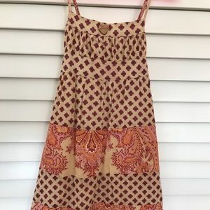 Designer summer dress, worn only a few times